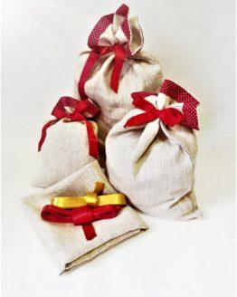 Dárkovka - látkový pytlík na dárky